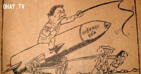 """""""Mưu sâu họa càng sâu"""" - Cùng xem lại tập tranh châm biếm chống Trung Quốc xâm lược năm 1979"""