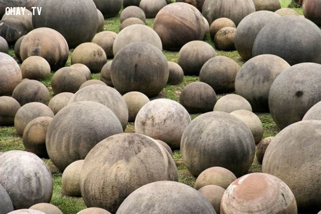 Những khối cầu đá khổng lồ của Costa Rica,tạo vật lịch sử,bí ẩn,khám phá
