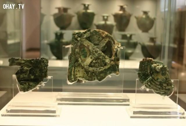 Antikythera, cỗ máy tính thiên văn cổ nhất thế giới,tạo vật lịch sử,bí ẩn,khám phá