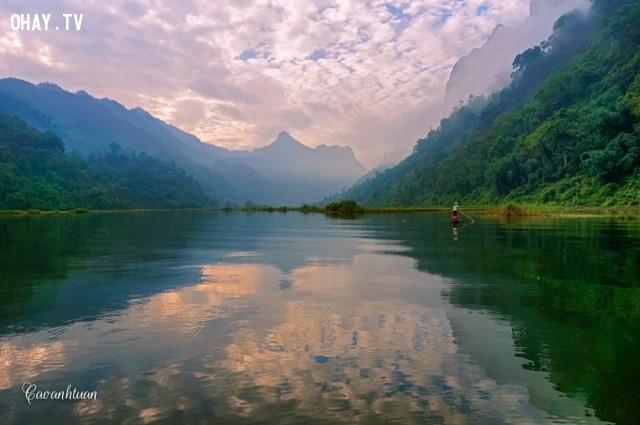 Ngắm hồ Ba Bể qua những tấm hình cực đẹp - Quỳnh