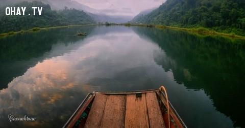 Ngắm hồ Ba Bể qua những tấm hình cực đẹp