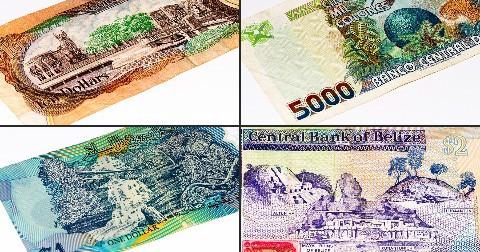 23 mẫu tiền giấy đẹp nhất trên thế giới
