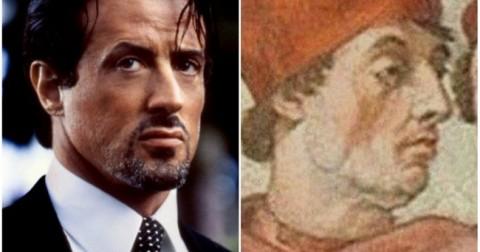 15 người nổi tiếng với bản sao đáng sợ của họ từ hàng trăm năm trước