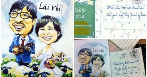 8 Mẫu thiết kế thiệp cưới độc nhất vô nhị của sao Việt