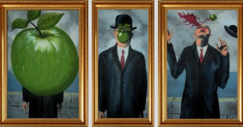 Cái nhìn hài hước về những bức tranh nổi tiếng trên thế giới
