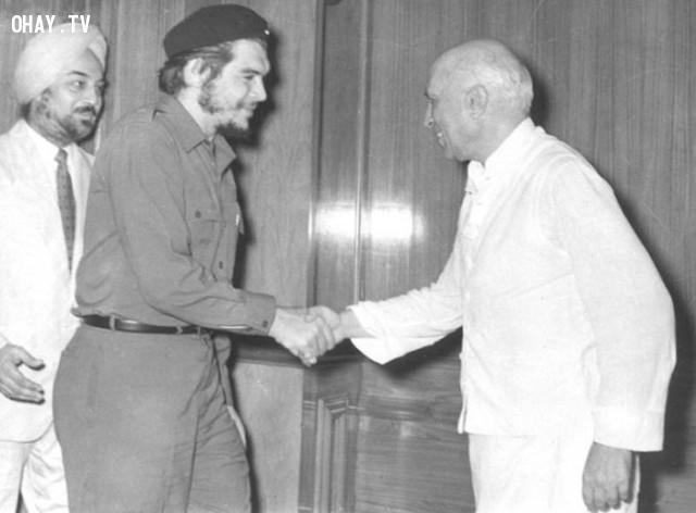 6. Che Guevara đến Ấn Độ và gặp Jawaharlal Nehru năm 1959,khoảnh khắc lịch sử,ấn tượng lịch sử