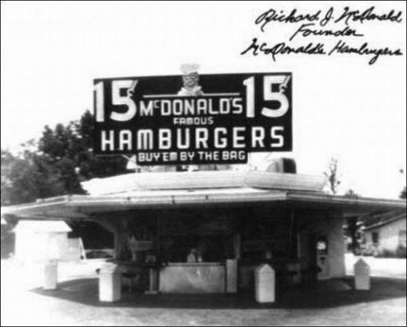 3. Một trong những cửa hàng đầu tiên của McDonald,khoảnh khắc lịch sử,ấn tượng lịch sử