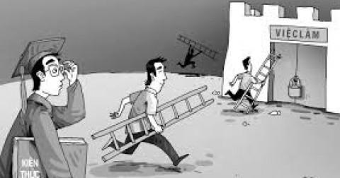 Ra trường và bước đường của sự gian khó