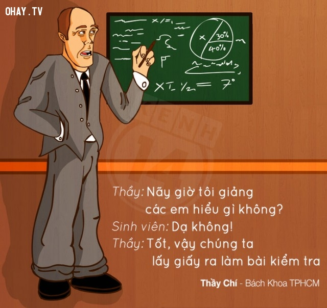 Không hiểu thì làm bài kiểm tra thôi,thầy cô,bá đạo,hài hước,cười,học sinh