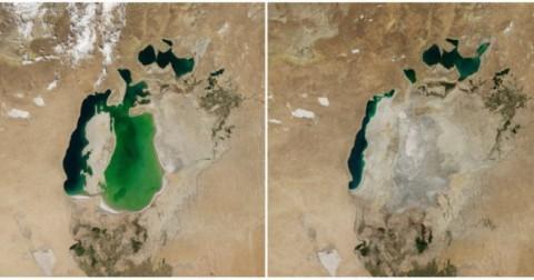 16 hình ảnh chứng minh biến đổi khí hậu khủng khiếp hơn bạn nghĩ rất nhiều lần