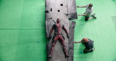 Hậu trường Deadpool và hình ảnh sau xử lý kỹ xảo