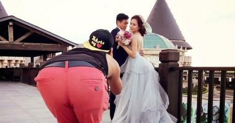 Cười ra nước mắt với bộ ảnh hậu trường chụp ảnh cưới