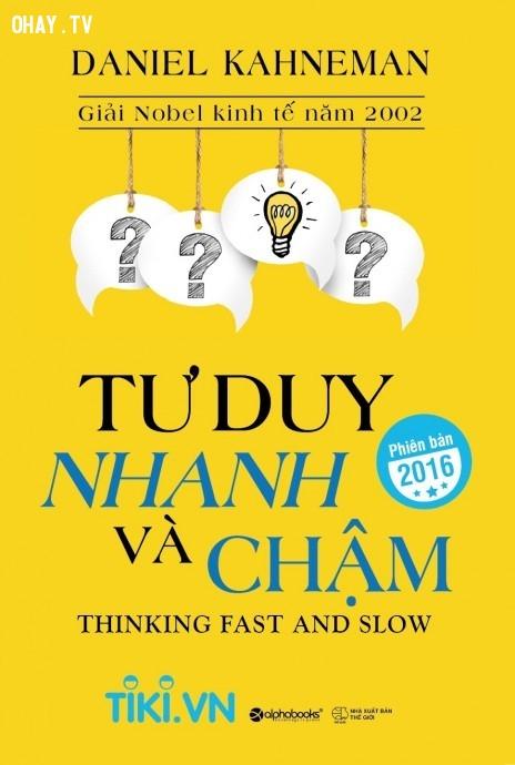 Tư duy nhanh và chậm,Khám phá,Sách,Cuộc Sống,Hội Sách
