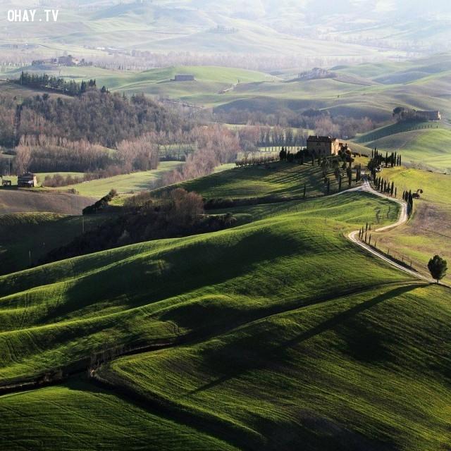 6. Tuscany, Ý,địa danh,điểm đến du lịch