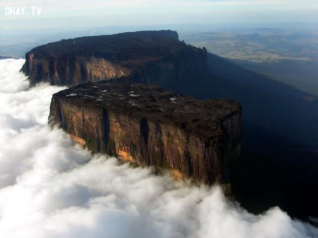 9. Núi Roraima, Venezuela,địa danh,điểm đến du lịch