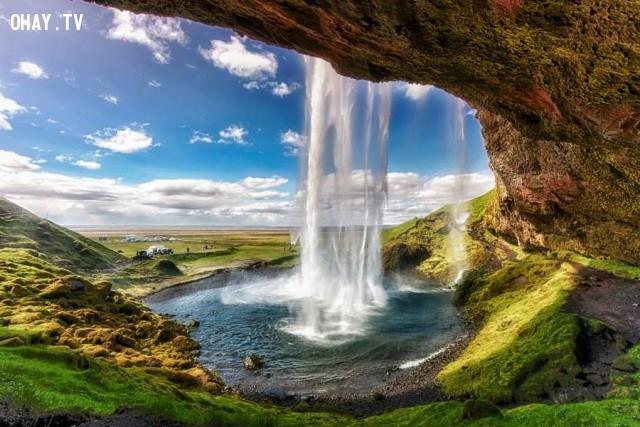 3. Thác nước Seljalandsfoss, Iceland,địa danh,điểm đến du lịch