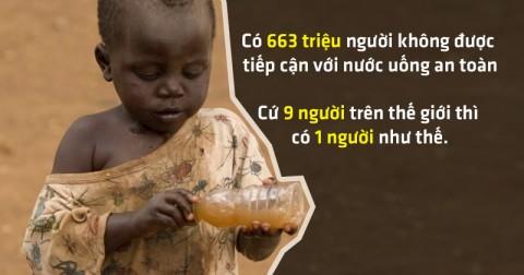 Lý do chúng ta phải tiết kiệm nước và những sự thật đau lòng