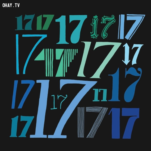 Số 17 đáng sợ với người Ý,những con số xui xẻo,số ám ảnh đáng sợ,khám phá