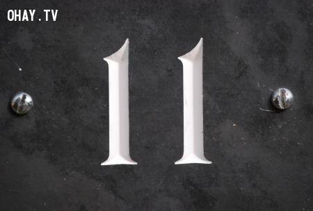 Số 11,những con số xui xẻo,số ám ảnh đáng sợ,khám phá