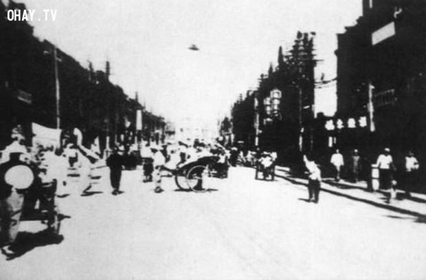 Tinsten, tỉnh Hà Bắc, Trung Quốc, 1942,bí ẩn ufo,hình ảnh ufo,khám phá