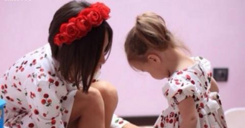 Đồ đôi cho mẹ và bé, xem xong chỉ muốn sinh con gái