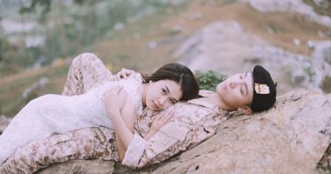 Bộ ảnh cưới 'Hậu duệ mặt trời' phiên bản Việt