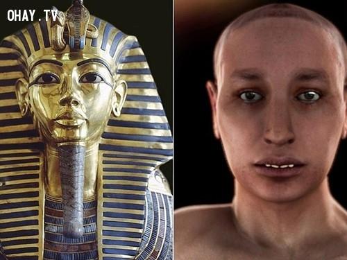 Vua Tutankhamun thay đổi lại những trật tự của vua cha,Ai Cập,Vua,Pharaoh,Tutakhamun,Ai Cập cổ