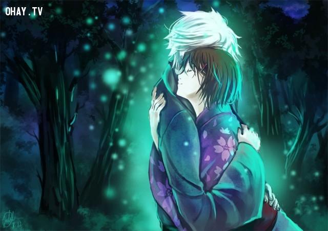 11. Hotaru No Mori E (tạm dịch :Đến khu rừng sáng ánh đom đóm),anime hay,anime cảm động
