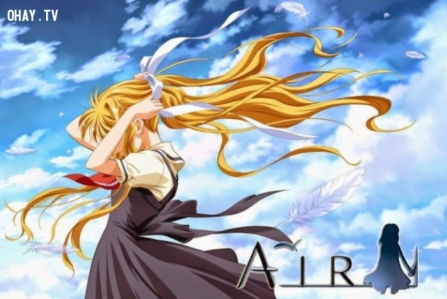 8. Air,anime hay,anime cảm động