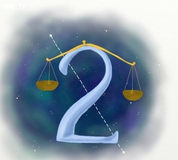 2. Số 2,trắc nghiệm vui,12 con số,ý nghĩa các con số