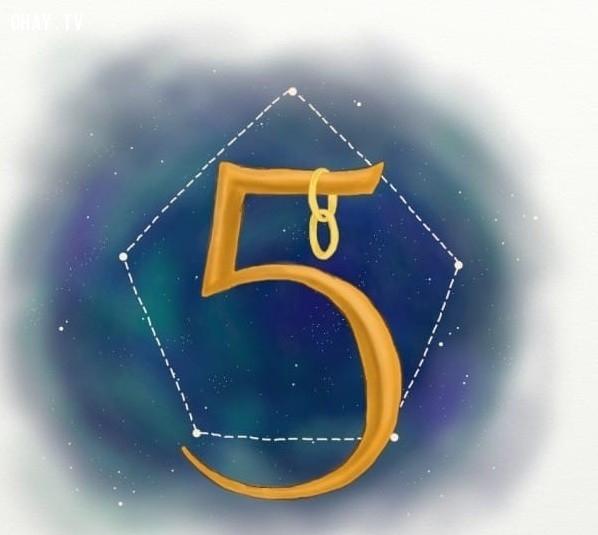 5. Số 5,trắc nghiệm vui,12 con số,ý nghĩa các con số