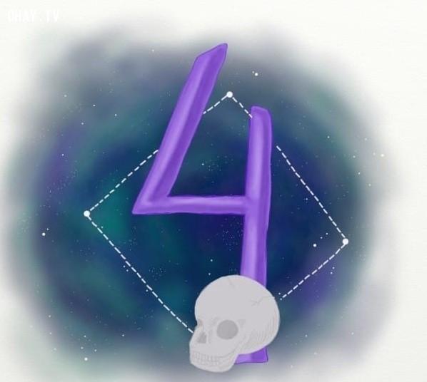 4. Số 4,trắc nghiệm vui,12 con số,ý nghĩa các con số
