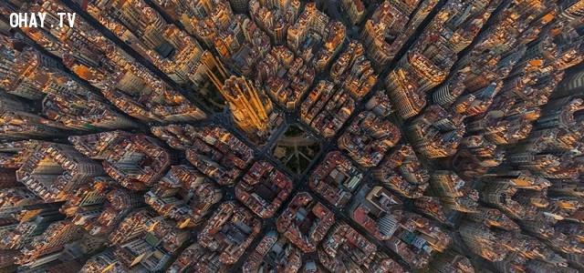 7. Barcelona, Tây Ban Nha,ảnh đẹp,ảnh nhìn từ trên cao,du lịch vòng quanh thế giới,toàn cảnh khắp nơi trên thế giới