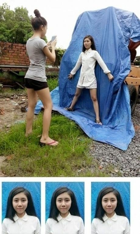 Hãy như cô gái ấy!,ảnh thẻ,hậu trường chụp ảnh,hài hước,chụp ảnh thẻ bá đạo