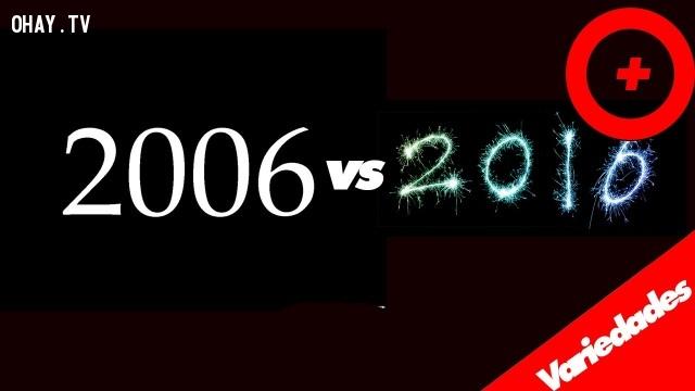 ,2006 vs 2016,thay đổi sau 10 năm,ảnh vui,sự thay đổi