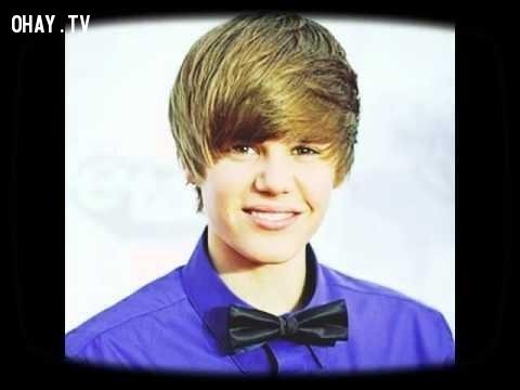 10. Justin Bieber năm 2006:,2006 vs 2016,thay đổi sau 10 năm,ảnh vui,sự thay đổi