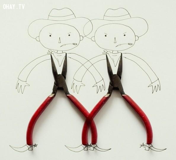 ,sáng tạo,tranh nghệ thuật,tranh 3D,họa sĩ Javier Pérez