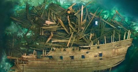 Kinh ngạc 10 con tàu đắm bị quên lãng khắp thế giới