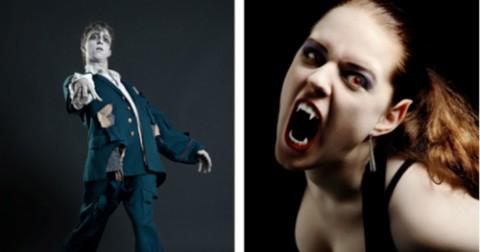 Nếu ma cà rồng cắn nhau với zombie, con nào sẽ bị biến đổi?