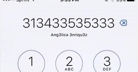 Bạn tìm được mấy số 3 trên màn hình iPhone trong câu đố này