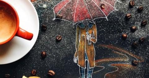 Những tác phẩm nghệ thuật bên tách cà phê vô cùng độc đáo của nữ họa sĩ Cinzia Bolognesi