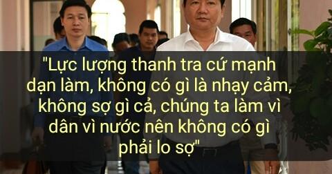 Những phát ngôn thể hiện tinh thần 'hết lòng vì dân' của ông Đinh La Thăng