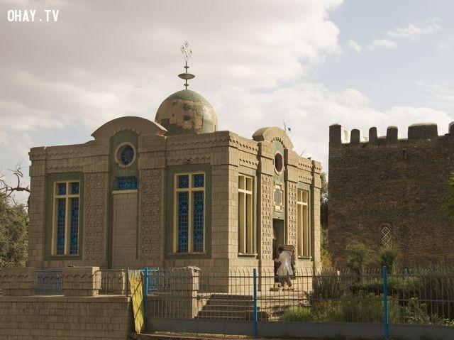 4. Nhà thờ có Hòm Bia Giao Ước, Ethiopia,bí ẩn,những khu vực bí ẩn