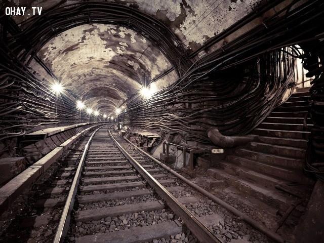 7. Hệ thống tàu điện ngầm Metro-2, Nga,bí ẩn,những khu vực bí ẩn