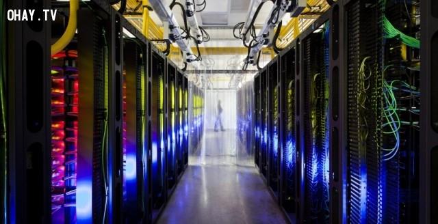 5. Trung tâm dữ liệu của google.,bí ẩn,những khu vực bí ẩn