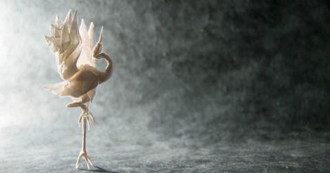 Nghệ thuật xếp giấy (Origami ) khiến bạn phải thốt lên rằng:'WoW!'