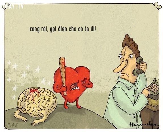 ,tình yêu,con tim,lý trí