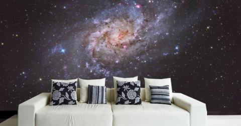 22 ý tưởng trang trí tuyệt vời biến nhà bạn thành vũ trụ thu nhỏ