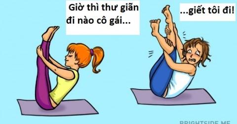 Bật cười với loạt tranh 'ngày đầu đi tập gym'