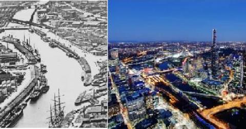 Sự thay đổi chóng mặt không còn nhận ra của 10 thành phố nổi tiếng